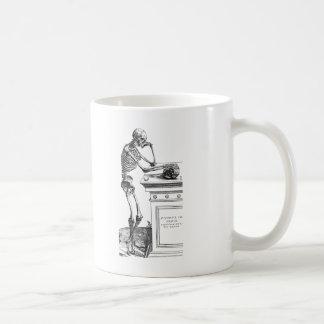 Vivitur Ingenio - Skelett Kaffeetasse