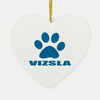 VIZSLA HUNDEentwürfe Keramik Ornament