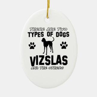 Vizsla Hundezuchtentwürfe Keramik Ornament