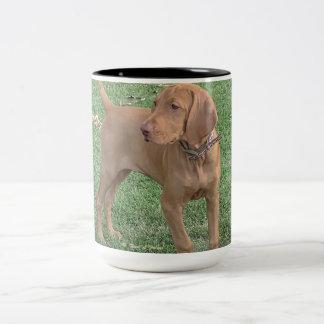 Vizsla Kaffee-Tasse Zweifarbige Tasse