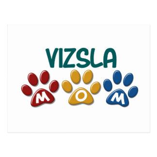 VIZSLA Mamma-Tatzen-Druck 1 Postkarte