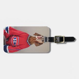 Vizsla Montreal Kanadier-Gepäckanhänger Kofferanhänger