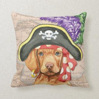 Vizsla Pirat Kissen
