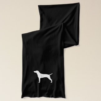 Vizsla Silhouette Schal