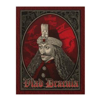 Vlad Dracula gotisch Holzleinwand