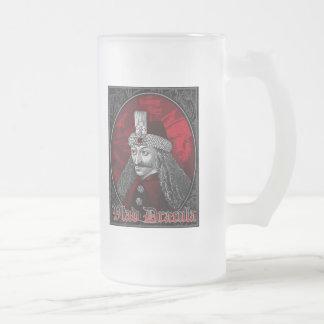 Vlad Dracula gotisch Matte Glastasse
