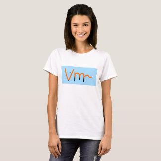 Vm~ - Fox mit Buchstaben T-Shirt