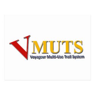 VMUTS Logo-Gang Postkarte