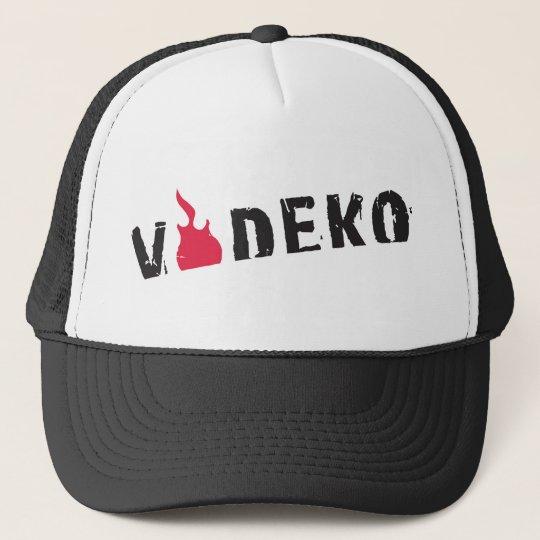 VODEKO® Trucker Cap black/white Truckerkappe