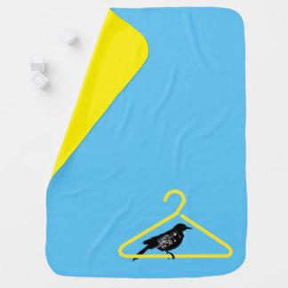 Vogel-Baby-Decke heraus hängen Kinderwagendecke