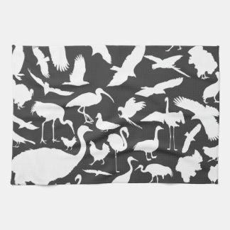 Vögel der Welt Handtuch