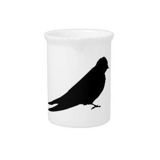 Vogel Getränke Pitcher