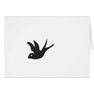 Vogel Grußkarte