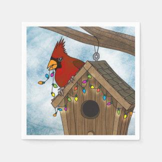 Vogel-Haus-Feiertag Servietten