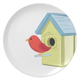 Vogel-Haus Melaminteller