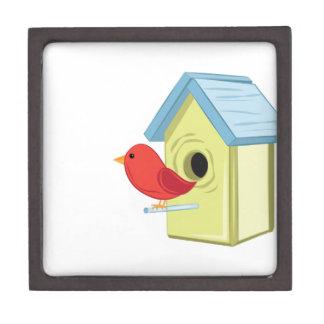 Vogel-Haus Schmuckkiste