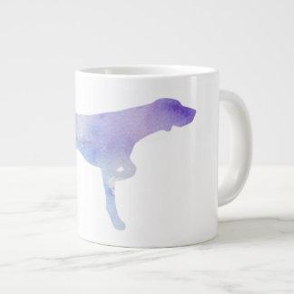Vogel-Hundewatercolor-Tasse Jumbo-Tasse