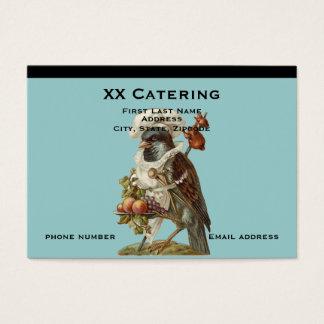 Vogel-Kochs-Catering Jumbo-Visitenkarten