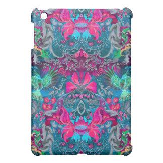 Vogel-Luxmuster des Vintagen Luxusblumengartens iPad Mini Schale