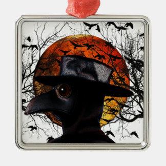 Vogel-Man Silbernes Ornament