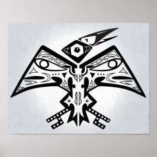Vogel-Man - Ureinwohner-Kunst-Plakat 11x14 Poster