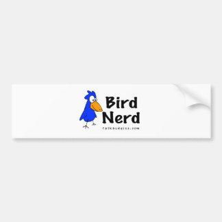 Vogel-Nerd Autoaufkleber