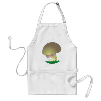 Vogel Pilz bird mushroom Schürze