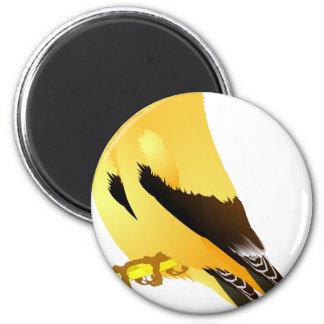 Vögel Runder Magnet 5,7 Cm