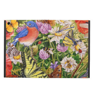 Vögel, Schmetterlings-iPad Air ケース kein Kickstand