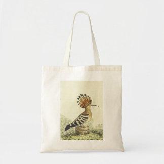 Vogel-Tasche mit Haube Budget Stoffbeutel
