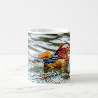 Vogel-Tasse - Mandarinen-Ente Kaffeetasse