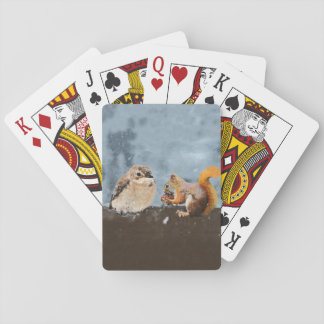 Vogel u. Eichhörnchen Spielkarten