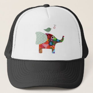 Vogel u. Elefant Truckerkappe