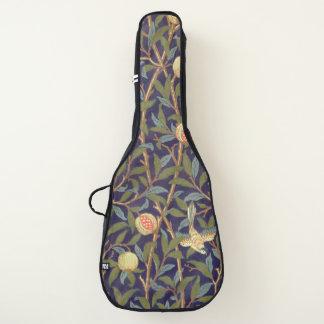 Vogel-und Granatapfel-Vintages Blumen Williams Gitarrentasche