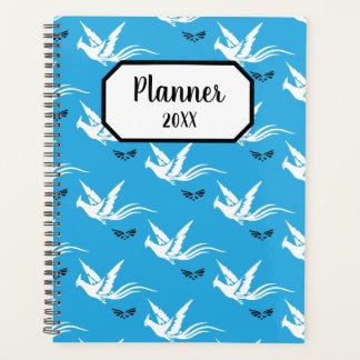 Vögel und Schmetterlinge Planer