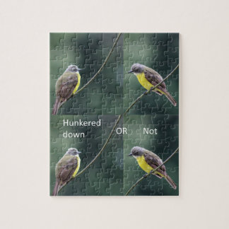 Vogel unten oder gebückt puzzle