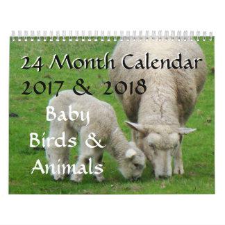 Vogelbaby-u. Tiertier-Fotografie 2017 2018 Kalender