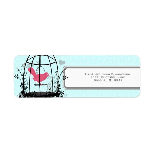 Vogelkäfig-rosa Vogel-musikalische Anmerkungen und