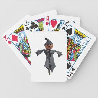 Vogelscheuche des Jack-O Bicycle Spielkarten