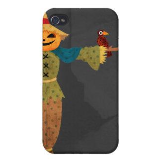 Vogelscheuche-Speck-Kasten iPhone 4 Schutzhülle