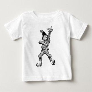 Vogelscheuche-Tanzen-Disco-Art Baby T-shirt