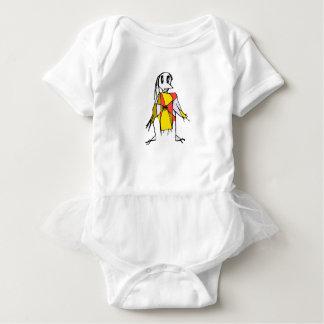 Vogelscheuche-Zeichnen Baby Strampler