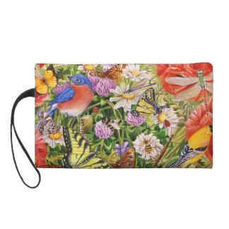 Vogelund SchmetterlingeWristlet Wristlet Handtasche