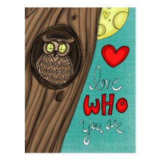 vol25- Liebe, die Sie sind Postkarte