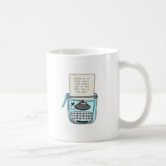 vol25 schreiben es in Ihr Herz Kaffeetasse