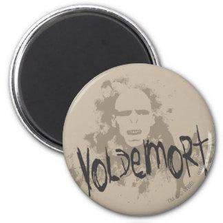 Voldemort dunkle Künste grafisch Runder Magnet 5,1 Cm