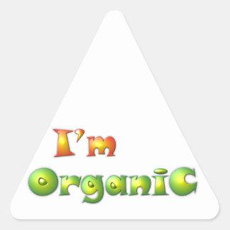 Volenissa - ich bin Bio Dreieckiger Aufkleber