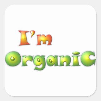 Volenissa - ich bin Bio Quadratischer Aufkleber