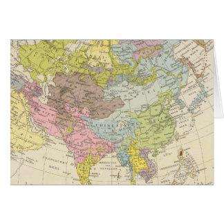 Volkerkarte von Asien - Karte von Asien