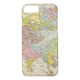 Volkerkarte von Asien - Karte von Asien iPhone 8/7 Hülle